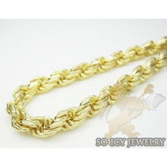 Mens 14k Hollow Yellow Go...