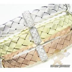 14k White Gold Basket Wea...
