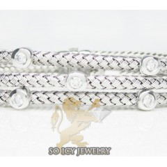 14k White Gold Basket Wea...