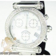 Ladies Joe Rodeo Diamond Watch White Valerie 1.10ct