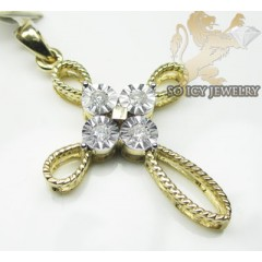 Ladies 14k Yellow Gold Di...