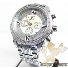 Techno com kc diamond fully iced out watch 8.00ct