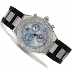 Diamond Icelink Parisien Mens Watch 1.25ct