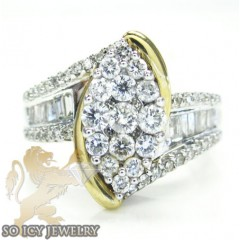 Ladies 14k White Gold Rou...