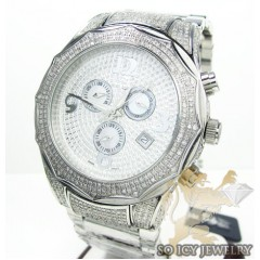 Diamond Icelink Corona Mens Watch 4.50ct
