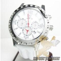 Ladies Aqua Master Genuine Diamond 35mm Watch 0.20ct