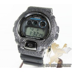 Cz Black G Shock Watch 5.00ct