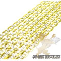 10k Two Tone Gold Diamond...