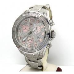Diamond Icelink Aqua Terra Mens Watch 7.00ct