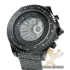 Techno Master Diamond Watch Ice Wrist- Band 20.00ct