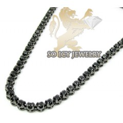 10k Black Gold Round Blac...