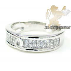 Sterling White Cz Fashion...