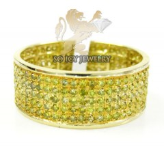 14k Yellow Gold Canary Diamond Fashion Ring 1.20ct