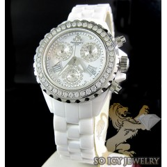 Ladies Techno Jpm White C...