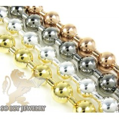 Ladies .925 Silver Ball Bead Bracelet