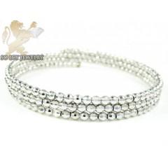 Ladies .925 Silver Triple...