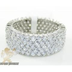Ladies .925 Silver Cz Ete...