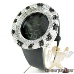 Black & White Cz Techno C...