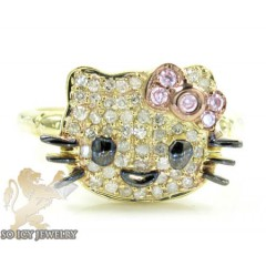 Ladies 10k Yellow Gold He...