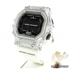Techno Master White Cz Shock Absorber Watch 3.00ct