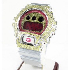 Mens Canary Cz Dw-6900 Wh...