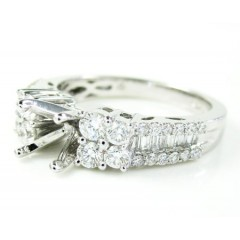 Ladies 18k White Gold Dia...