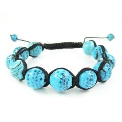 Turquoise Blue Onyx Macra...