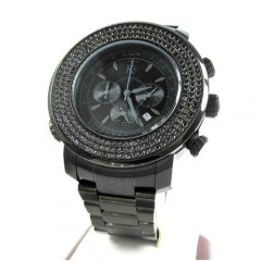 Techno Com Kc Black Diamond Xl Watch 4.25ct