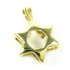 14k Yellow Gold Jewish St...