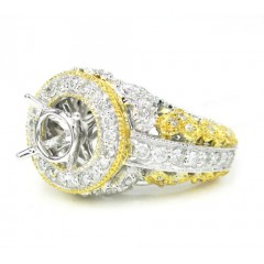 14k Two Tone Gold Diamond...