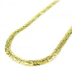 10k Yellow Gold Flat Byza...