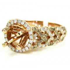 Ladies 14k Rose Gold Cham...