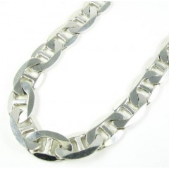 925 Sterling Silver Anchor Link Chain 36 Inch 13.50mm