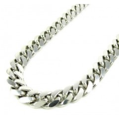925 Sterling Silver Miami Link Chain 36 Inch 6mm