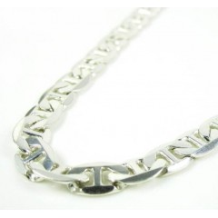 925 Sterling Silver Anchor Link Chain 24 Inch 5.50mm