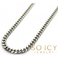 925 Sterling Silver Miami Link Chain 22 Inches 2.50mm