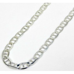 925 Sterling Silver Anchor Link Chain 18-26 Inch 3.30mm