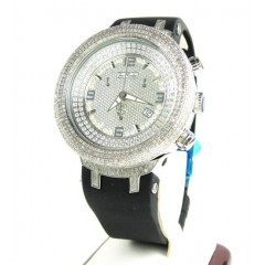 Joe Rodeo Master White Iced Out Diamond Watch Jjm68 6.50ct