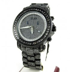 Joe Rodeo Junior Black Diamond Fully Iced Out Watch Jju149 27.00ct