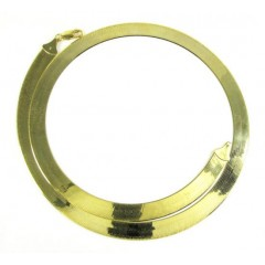 10k Yellow Gold Herringbone Chain 24 Inch 7.75mm