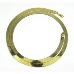 10k Yellow Gold Herringbone Chain 20-24 Inch 5.70mm