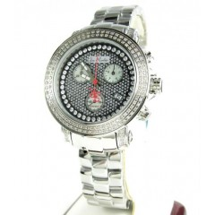 Ladies White Stainless Steel Joe Rodeo Rio Diamond Watch 1.25ct Jro6