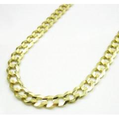 10k Yellow Gold Cuban Chain 24-30 Inch 4.7mm
