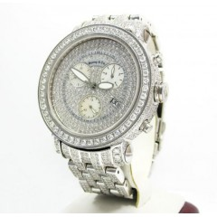 Mens Fully Iced Out Benny & Co. Diamond Watch 16.00CT