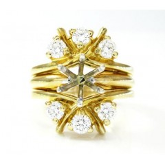 Ladies 14k Yellow Gold Fa...