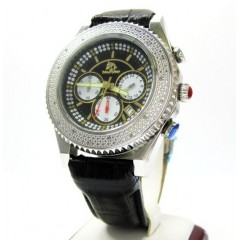 Mens Techno Master Diamond Watch 0.20ct