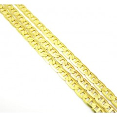 10k Yellow Gold Solid Ski...