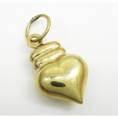 10k Yellow Gold Heart Pen...