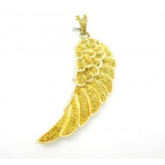 10k Yellow Gold Canary Di...