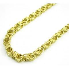 10k Yellow Gold Turkish Rope Chain 36 Inch 3.7mm